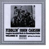 Fiddlin John Carson Vol. 2 1924 - 1925 by Fiddlin' John Carson