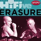 Rhino Hi-five: Erasure by Erasure