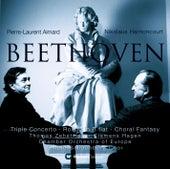 Beethoven : Triple Concerto, Rondo in B flat, Choral Fantasy von Nikolaus Harnoncourt