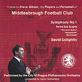 David. F. Golightly Symphony no 1 by City of Prague Philharmonic