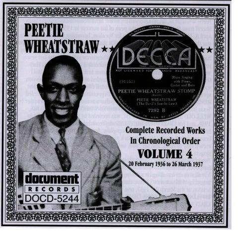 Peetie Wheatstraw Vol. 4 1936-1937 by Peetie Wheatstraw