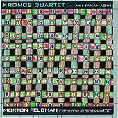 Morton Feldman: Piano and String Quartet de Kronos Quartet