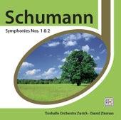 Schumann: Symphonies Nos. 1 & 2 von David Zinman