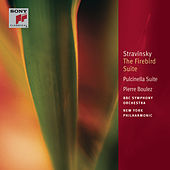 Stravinsky: The Firebird Suite (1910); Pulcinella Suite; Suites Nos. 1 & 2 for Small Orchestra [Classic Library] by Pierre Boulez