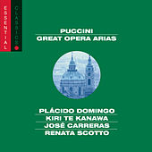 Puccini: Great Opera Arias by Various Artists