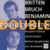 Benjamin/Britten/Bruch: Double Concertos von Benjamin Schmid