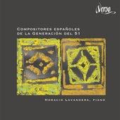 Compositores Españoles de la Generacion del 51 von Horacio Lavandera