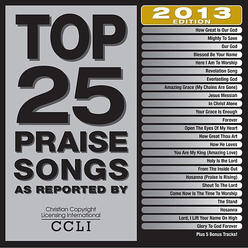 Top 25 Praise Songs 2013 Edition by Various Artists