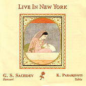 Live In New York de G.S. Sachdev