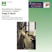 Mendelssohn, Brahms, Schumann & Mahler: Songs and Duets de Various Artists