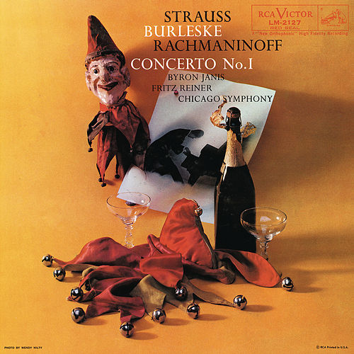 Rachmaninoff: Concerto For Piano and Orchestra No. 1 In F-Sharp Minor Op. 1; Strauss: Burleske For Piano and Orchestra In D Minor by Byron Janis
