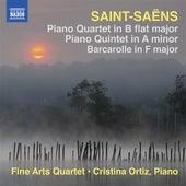 Saint-Saens: Piano Quartet - Barcarolle - Piano Quintet by Fine Arts Quartet