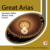 Great Opera Arias By Donizetti; Bellini; Mozart; Verdi & Puccini by Plácido Domingo