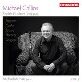 British Clarinet Sonatas, Vol. 2 by Michael Collins