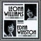 Leona Williams & Edna Winston (1922-1927) by Leona Williams