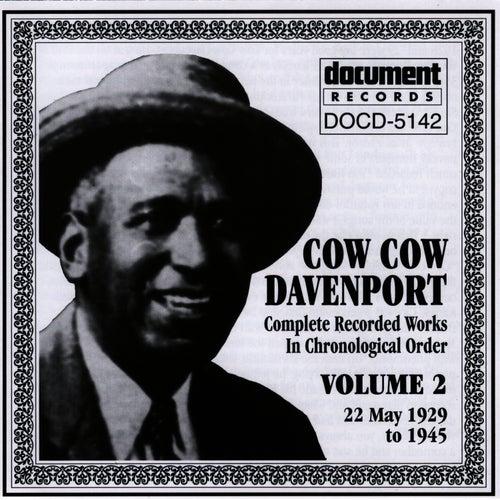 Cow Cow Davenport Vol. 2 (1929-1945) by Cow Cow Davenport