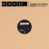 What Say? von Sander Van Doorn