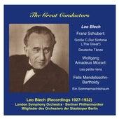 The Great Conductors: Leo Blech, Vol. 1 von Various Artists