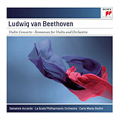 Beethoven: Violin Concerto in D Major, Op. 61; Romances for Violin No. 1 in G Major, Op. 40 & No. 2 in F Major, Op. 50 by Salvatore Accardo