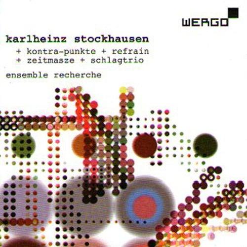 Kontra-Punkte+Refrain+Zeitmasse+Schlagtrio by Karlheinz Stockhausen