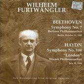 Furtwängler Performs Beethoven & Haydn by Wilhelm Furtwängler
