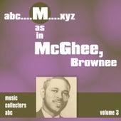 M as in MCGHEE, Brownee (Volume 3) by Brownie McGhee