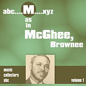 M as in MCGHEE, Brownee (Volume 1) by Brownie McGhee