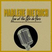 Live At The Cafe De Paris by Marlene Dietrich