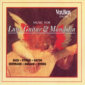 Music For Lute, Guitar, And Mandolin by Various Artists