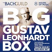 Big Gustav Leonhardt Box   The Bach Guild Recordings 1952-1955 by Various Artists