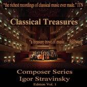 Classical Treasures Composer Series: Igor Stravinsky, Vol. 1 de Various Artists