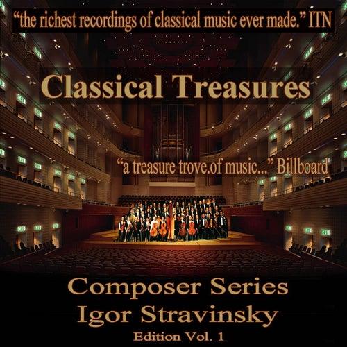 Classical Treasures Composer Series: Igor Stravinsky, Vol. 1 by Various Artists