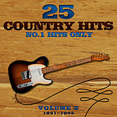 25 No.1 Country Hits (1951-1953) Vol. 3 de Various Artists