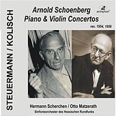 Schoenberg: Piano and Violin Concertos by Various Artists