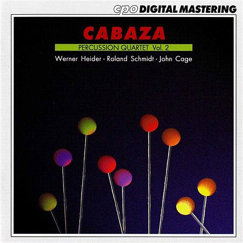 Cabaza Percussion Quartet, Vol. 2 by Cabaza Percussion Quartet