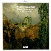 Braunfels: String Quartets Nos. 1 & 2 von Auryn-Quartet