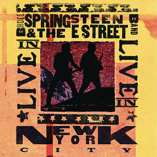 Live In New York City by Bruce Springsteen
