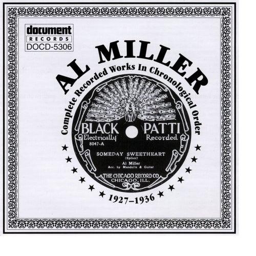 Al Miller 1927-1936 by Al Miller (Blues)