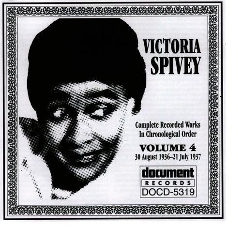 Victoria Spivey Vol. 4 1936-1937 by Victoria Spivey