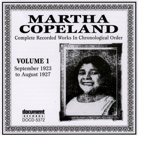 Martha Copeland Vol. 1 (1923-1927) by Martha Copeland