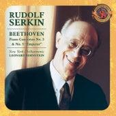 Beethoven: Piano Concertos Nos. 3 & 5 von Rudolf Serkin