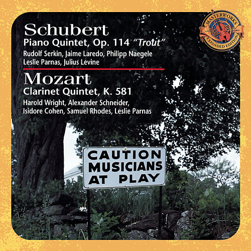Schubert: Trout Quintet & Mozart: Clarinet Quintet [Expanded Edition] by Various Artists