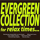 Evergreen Collection for Relax Times... (Raindrops Keep Fallin' On My Head, Why Don't You, I Say a Little Prayer, Mack the Knife, Something Stupid, Day By Day...) by Various Artists