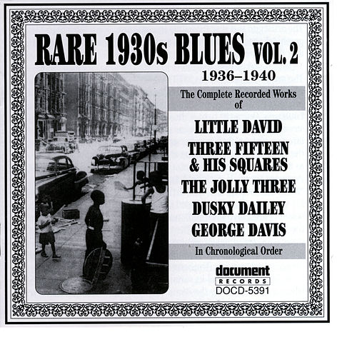 Rare 1930s Blues Vol. 2 (1936-1940) by Various Artists
