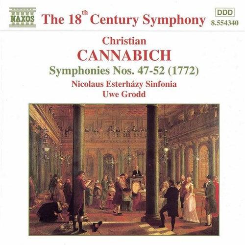 Symphonies Nos. 47-52 by Christian Cannabich