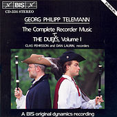 Complete Recorder Music: The Duets, Vol. I by Georg Philipp Telemann