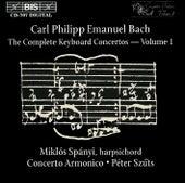 Complete Keyboard Concertos, Vol.  1 von Carl Philipp Emanuel Bach