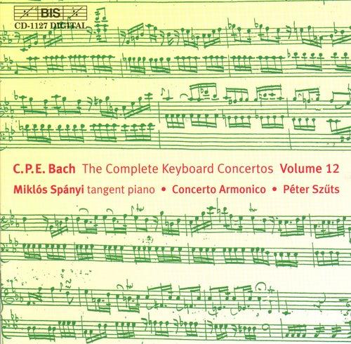Complete Keyboard Concertos, Vol. 12 by Carl Philipp Emanuel Bach