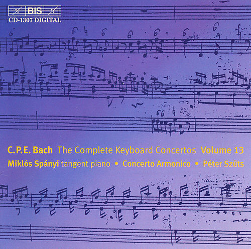 Complete Keyboard Concertos, Vol. 13 by Carl Philipp Emanuel Bach