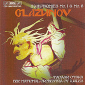 Symphony No. 1 In E Major, Op. 5 / Symphony No. 6 In C Minor, Op. 58 de Alexander Glazunov